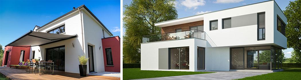 Costruzione case in legno a secco isolamento acustico for Ville moderne design